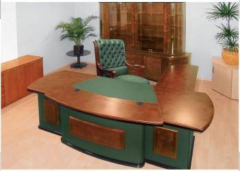 Antares Стол рук.зел.кож