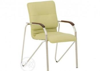 Кресло офисное Самба wood  alum