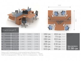 Техно Композиция мебели 5