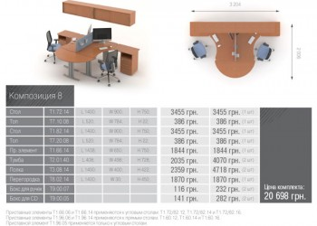 Техно Композиция мебели 8